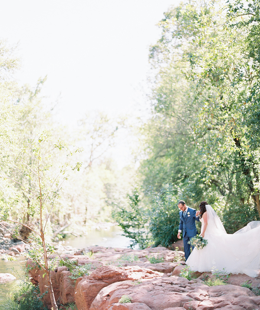 Sedona wedding, Oak Creek