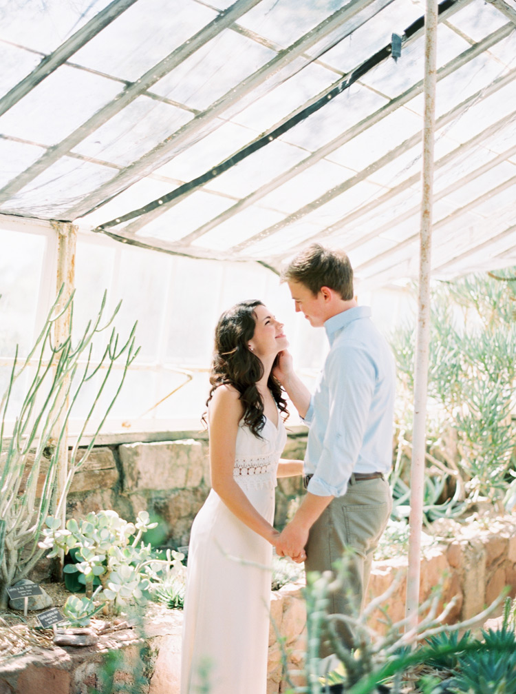 greenhouse engagement photo
