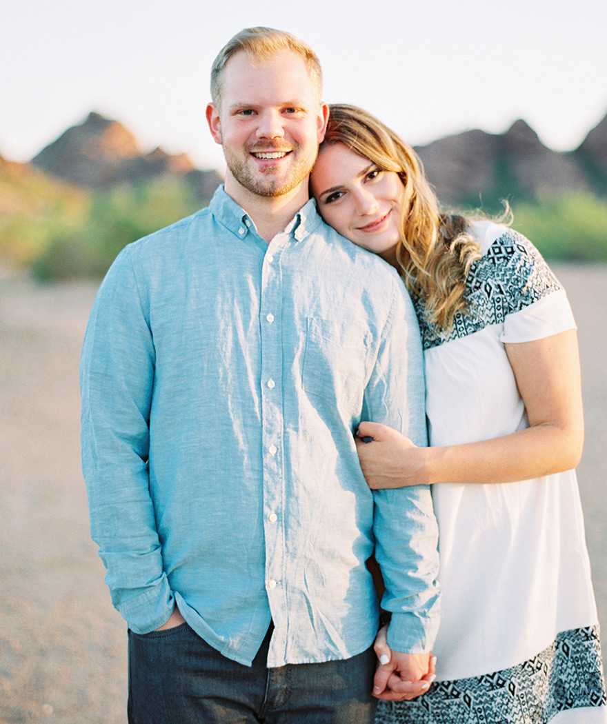sunrise Papago Park engagement