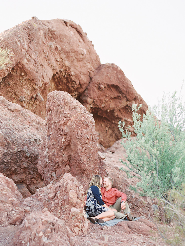 engagement shoot Papago Park Phoenix