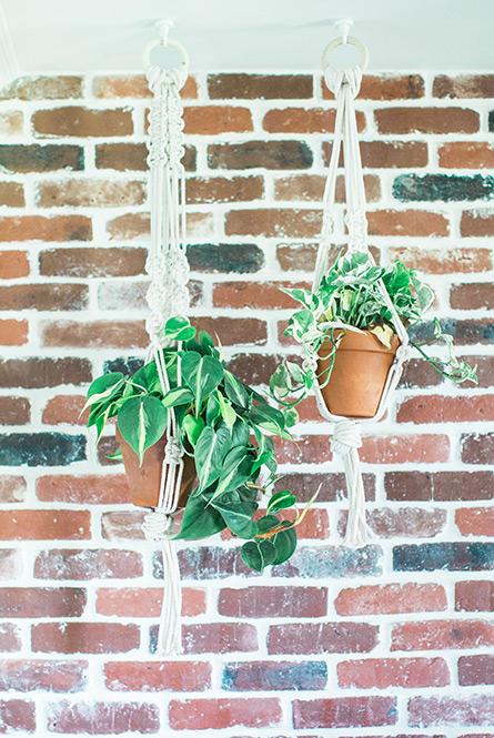 macrame planter hangers