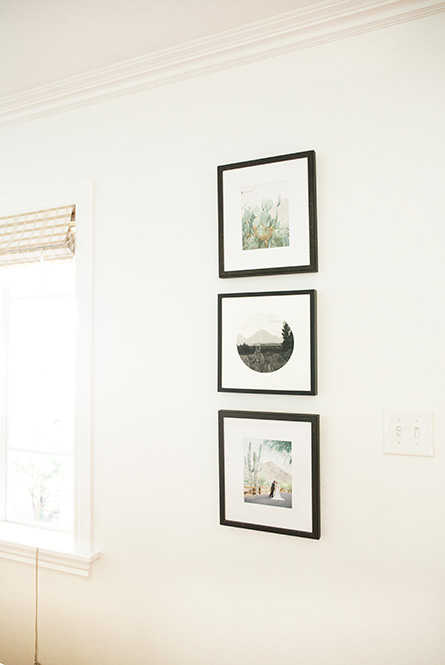 wall art display