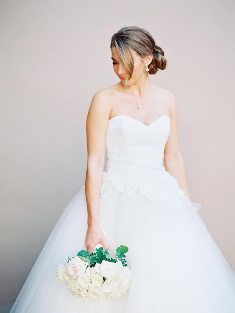 Edgardo Bonilla ball gown wedding dress