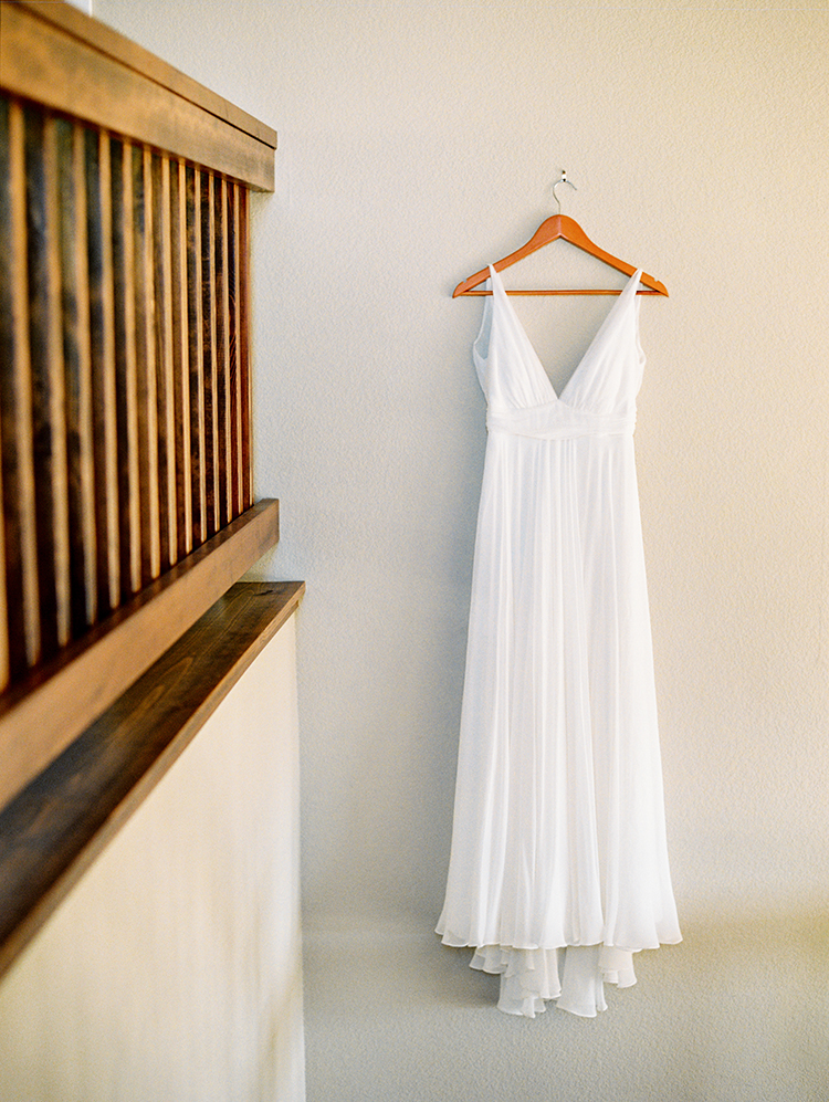 wedding dress waiting for the bride
