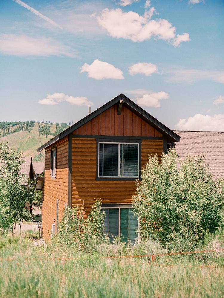 Granby Colorado in the summer