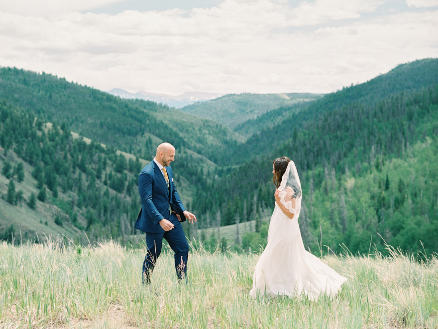 Colorado mountain wedding