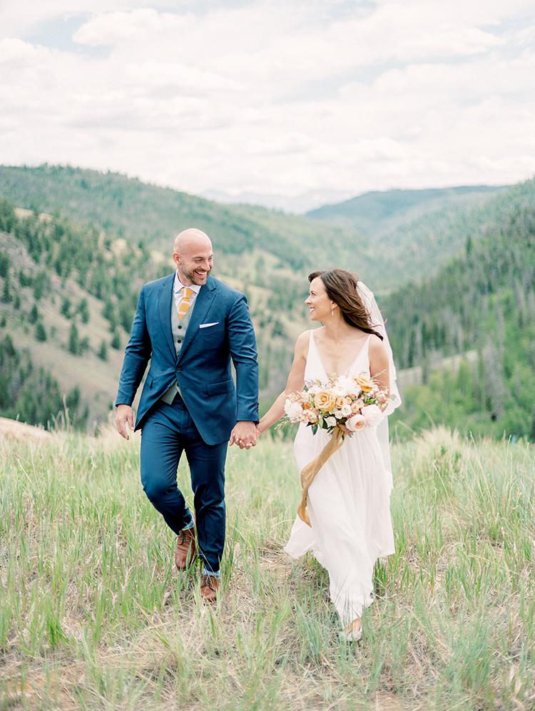 boho bride & dapper groom