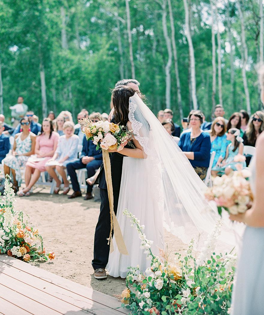 mountaintop Colorado wedding