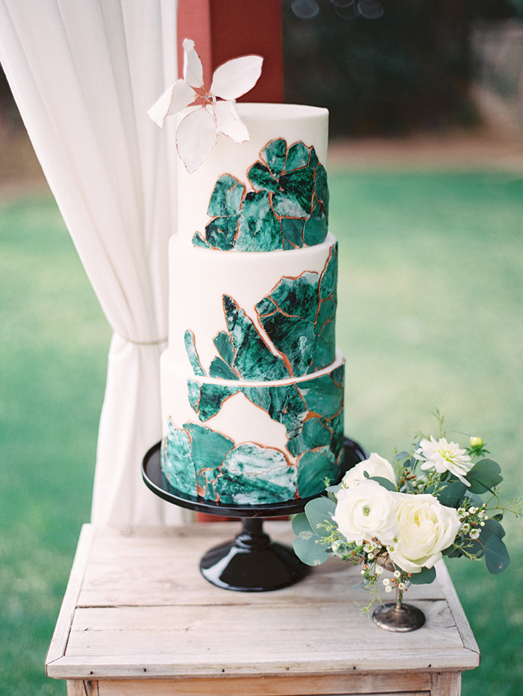 Wedding Cake Tips Trends From The Experts Phoenix Scottsdale - Geode Wedding Cake
