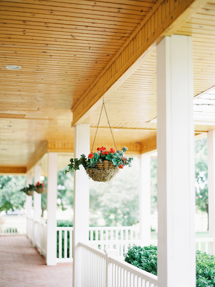 porch of a modern farmhouse