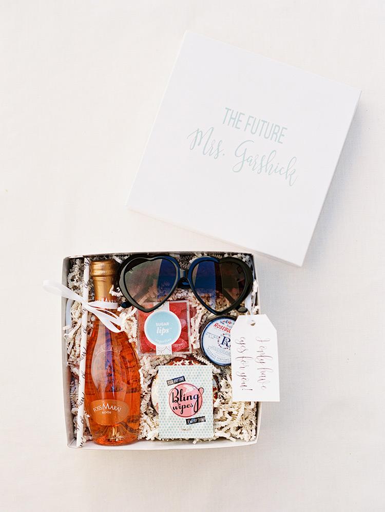 fun gift box for the bride