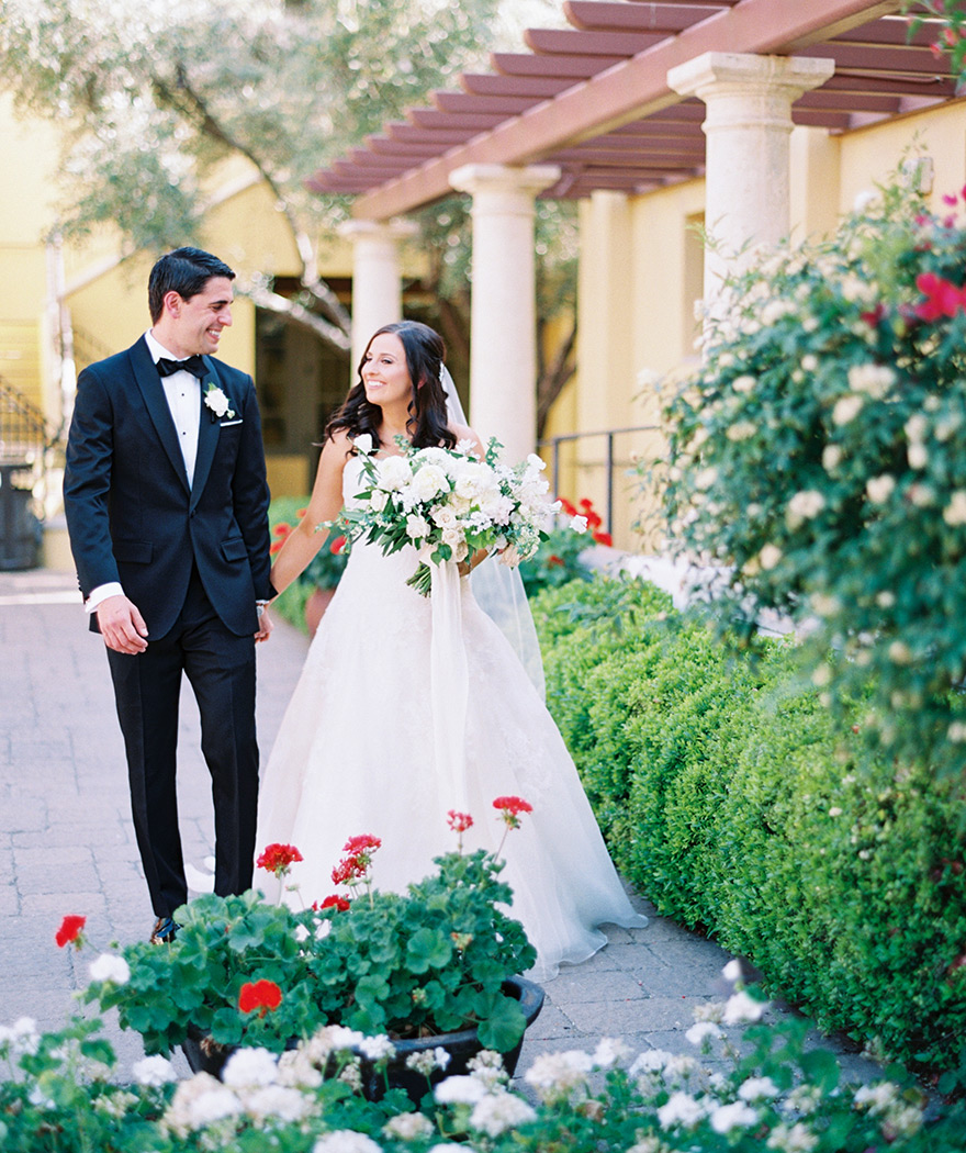 wedding at Omni Scottsdale Resort & Spa at Montelucia