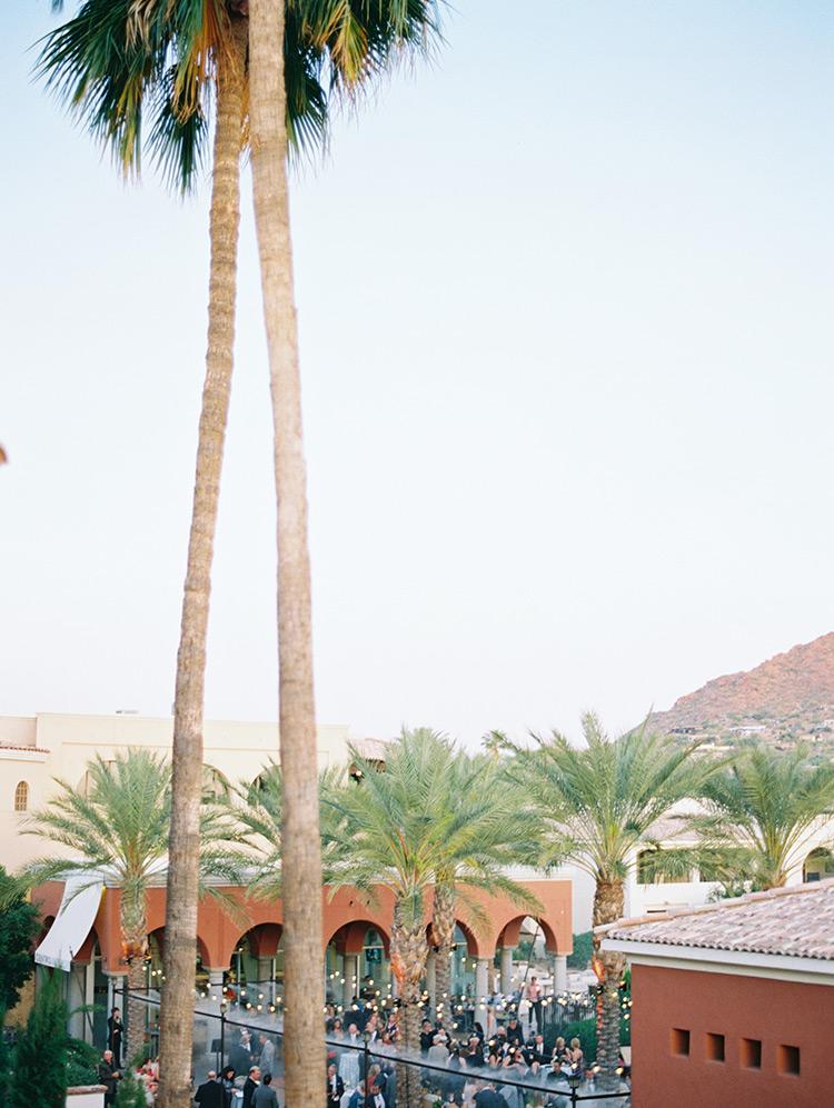 wedding reception at Omni Scottsdale Resort & Spa at Montelucia