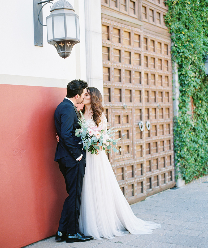 beautiful bride & groom at the Montelucia