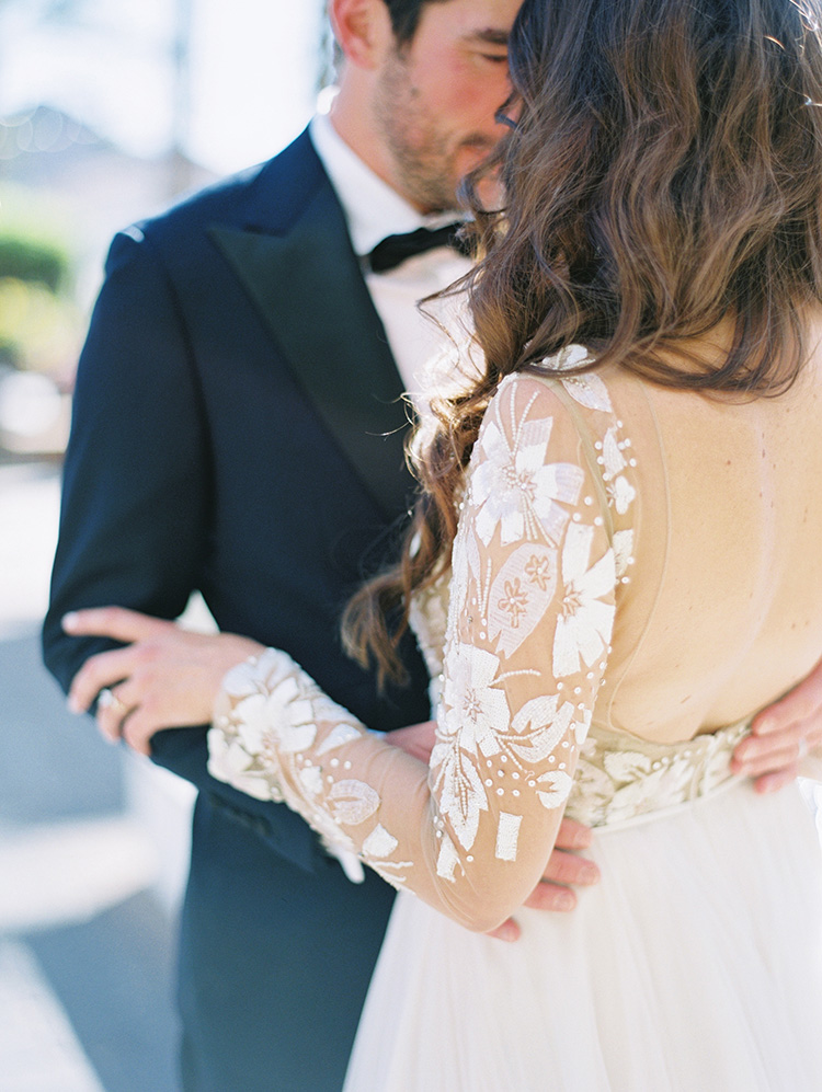 lace & tulle dress by Hayley Paige