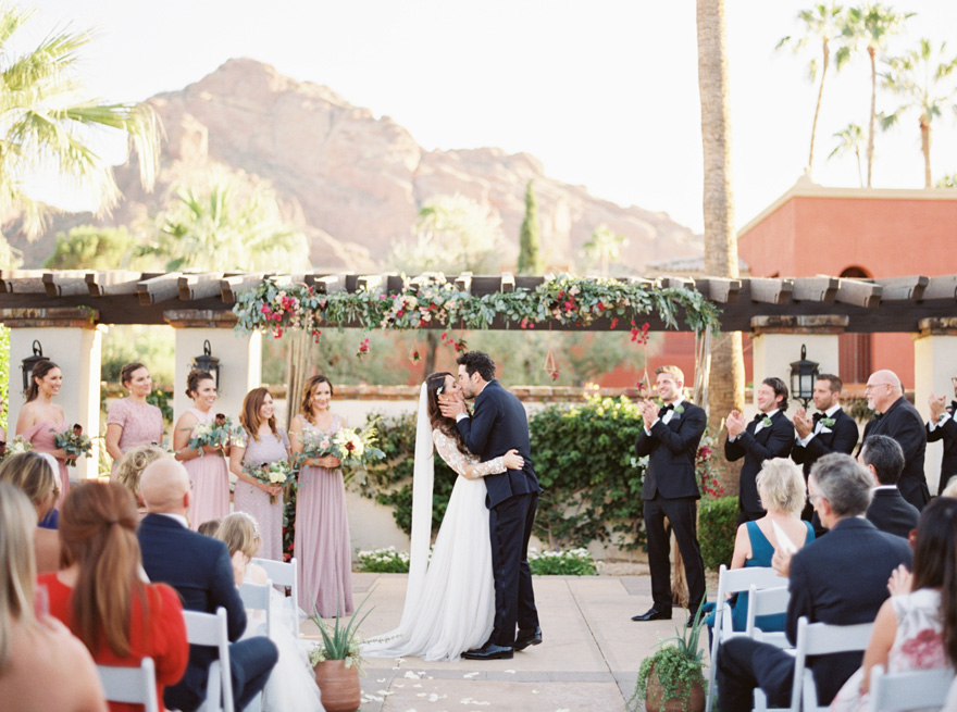 outdoor wedding at Montelucia