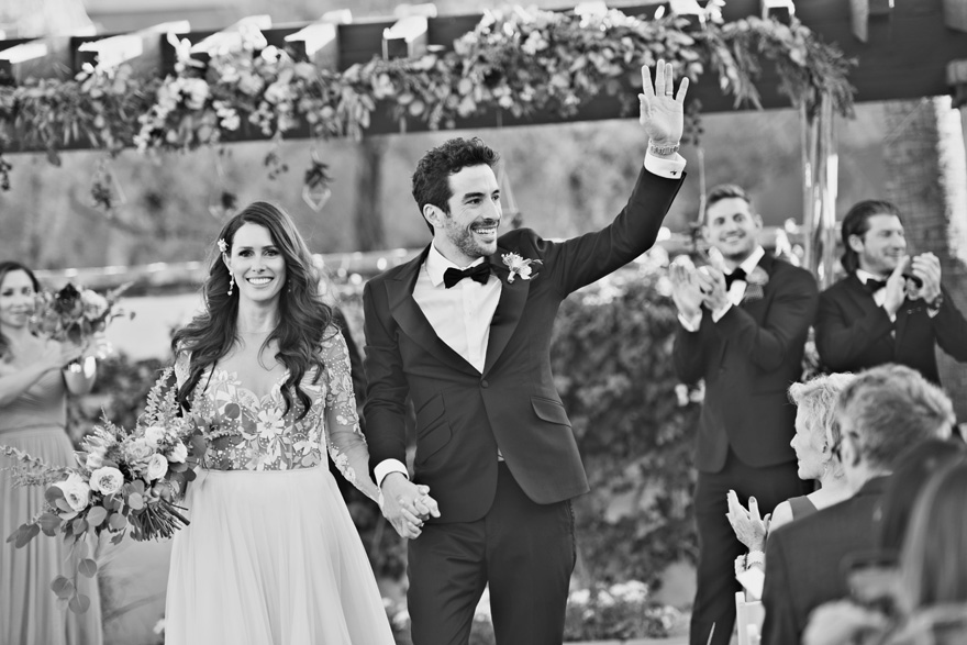 outdoor wedding at Montelucia