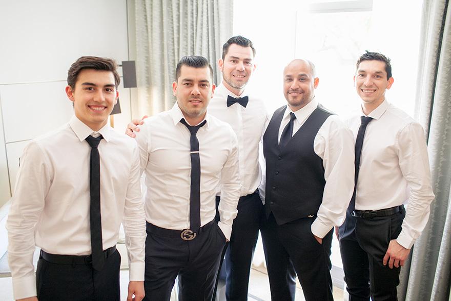 dapper groomsmen