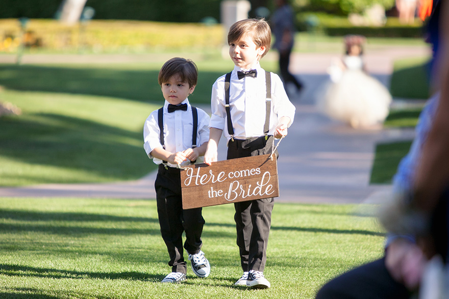 ring bearers carry a