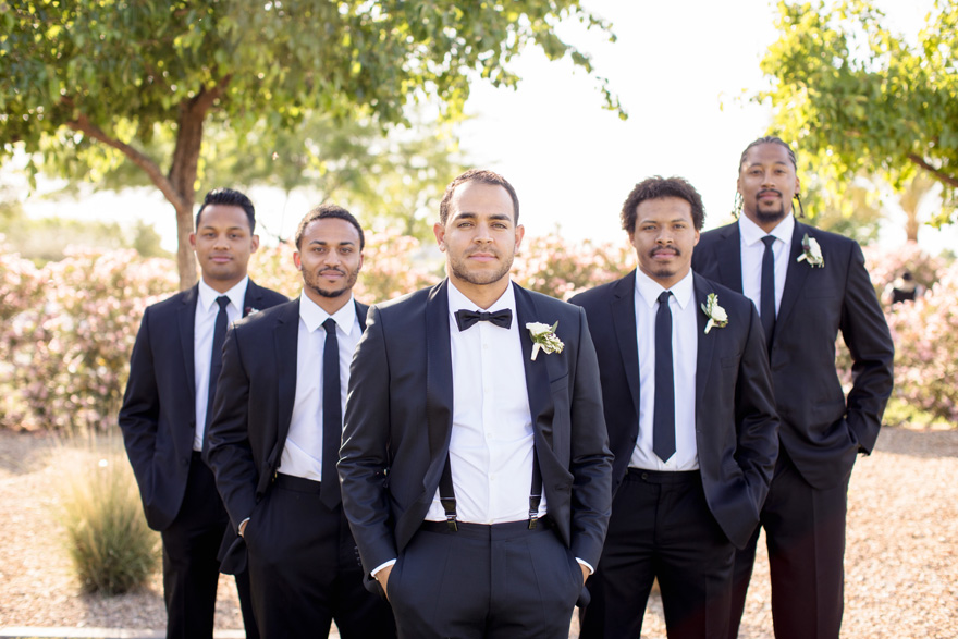 groomsmen with style
