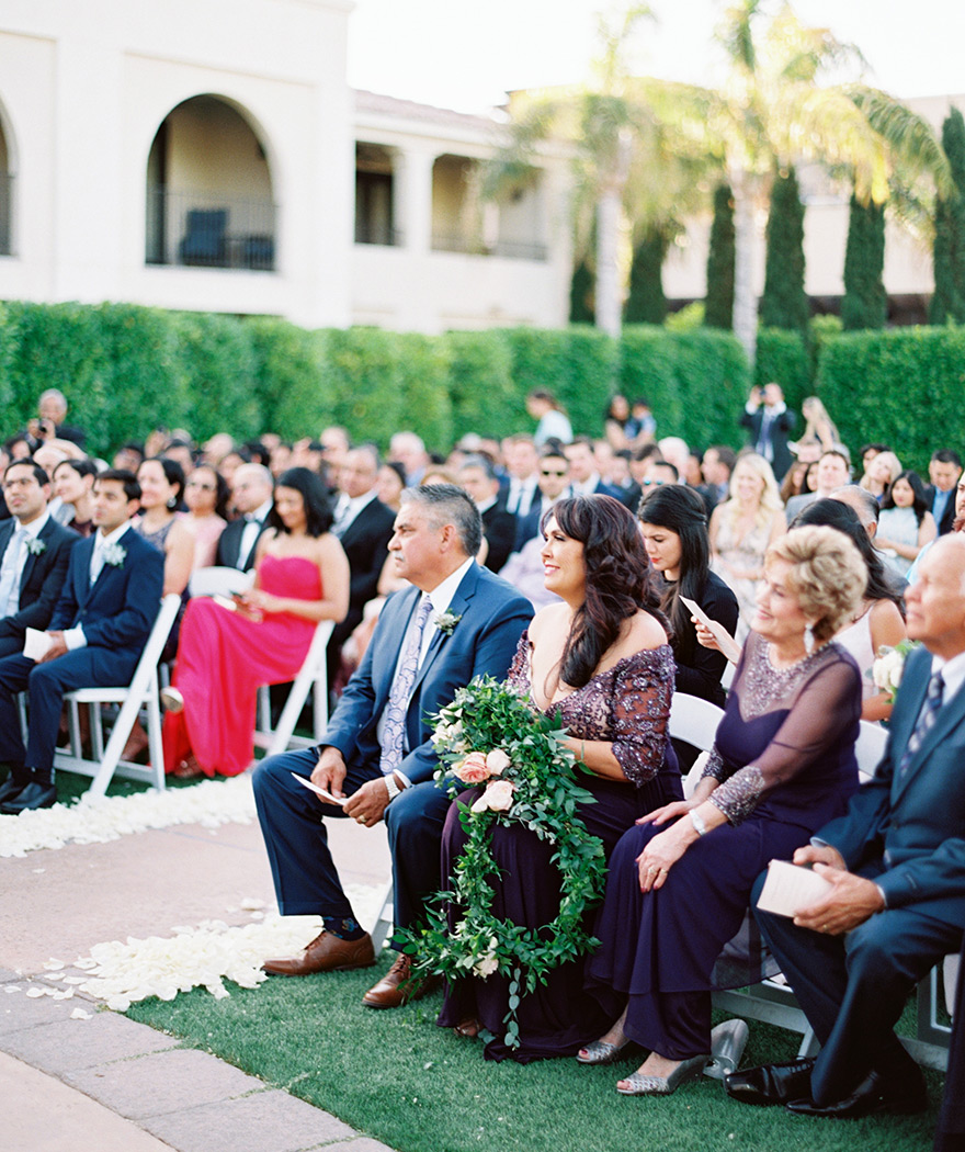 outdoor wedding ceremony at Omni Scottsdale Resort & Spa at Montelucia