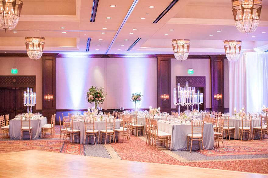 ballroom reception
