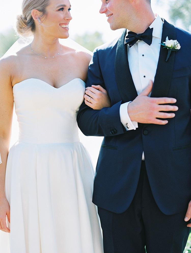 classic bride & groom