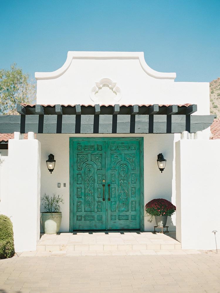 carved Southwestern doors