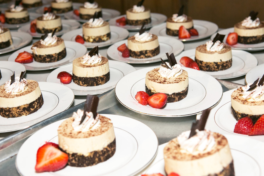 individual tiramisu desserts
