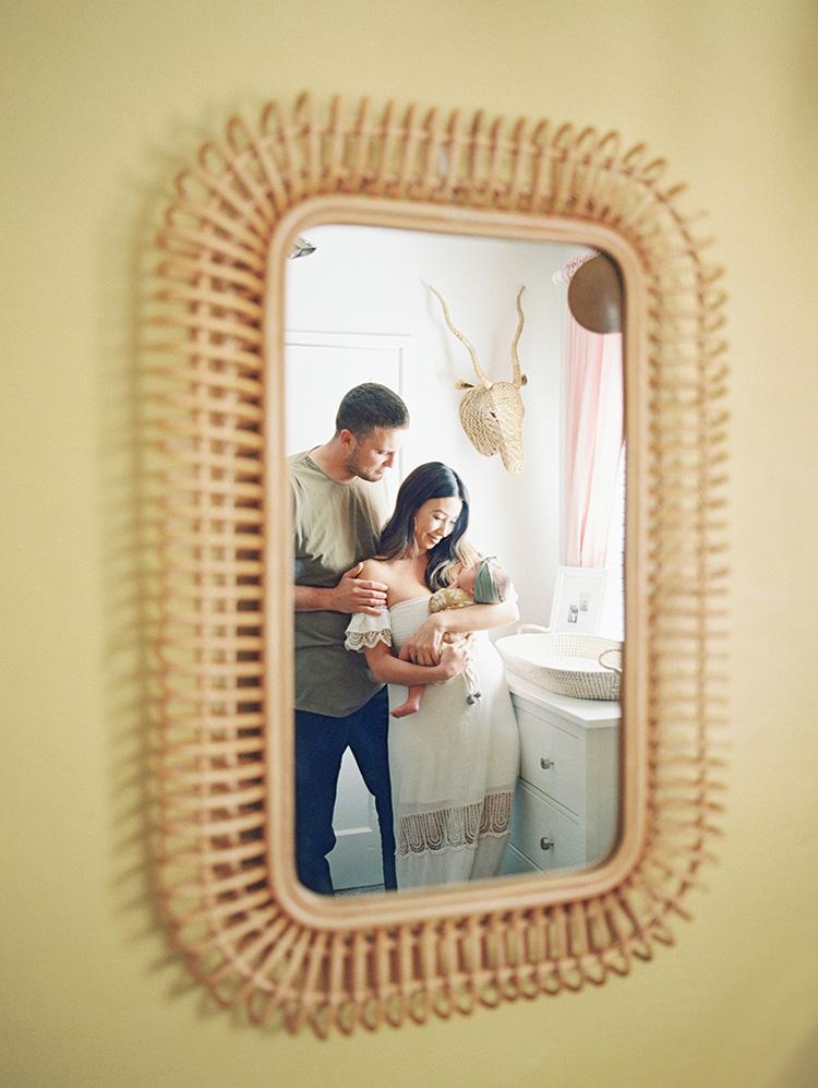 newborn lifestyle photos on film