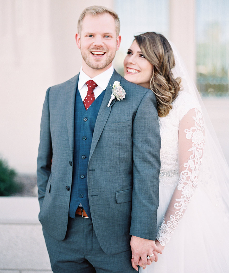 Blush & Burgundy Phoenix LDS Temple Wedding - Phoenix, Scottsdale ...