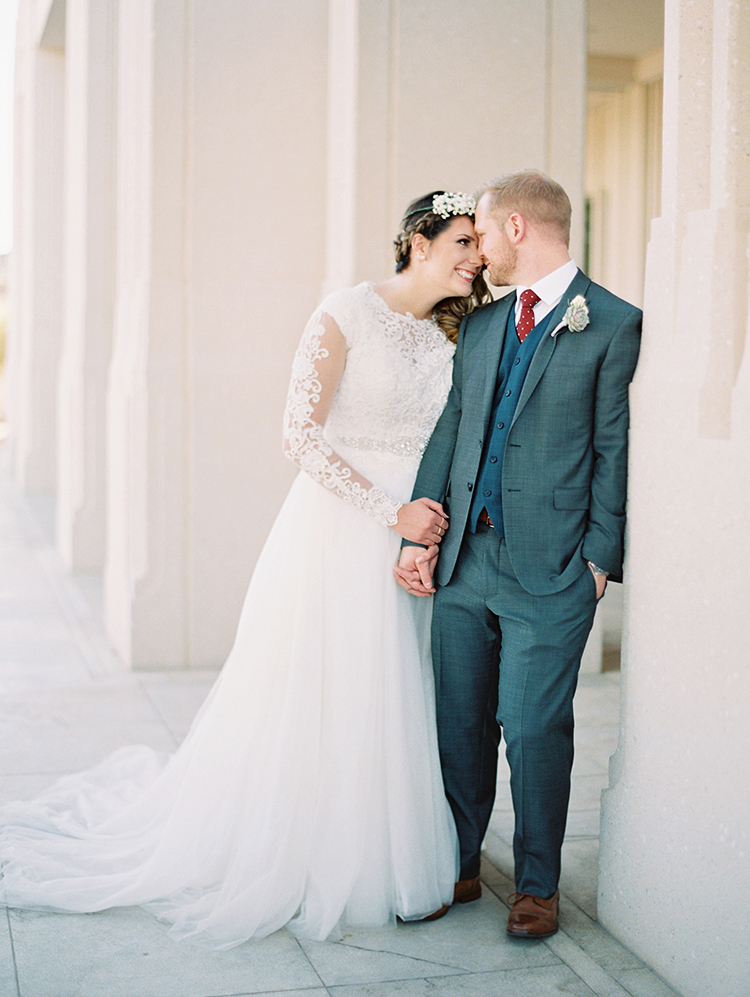 Phoenix LDS Temple Wedding