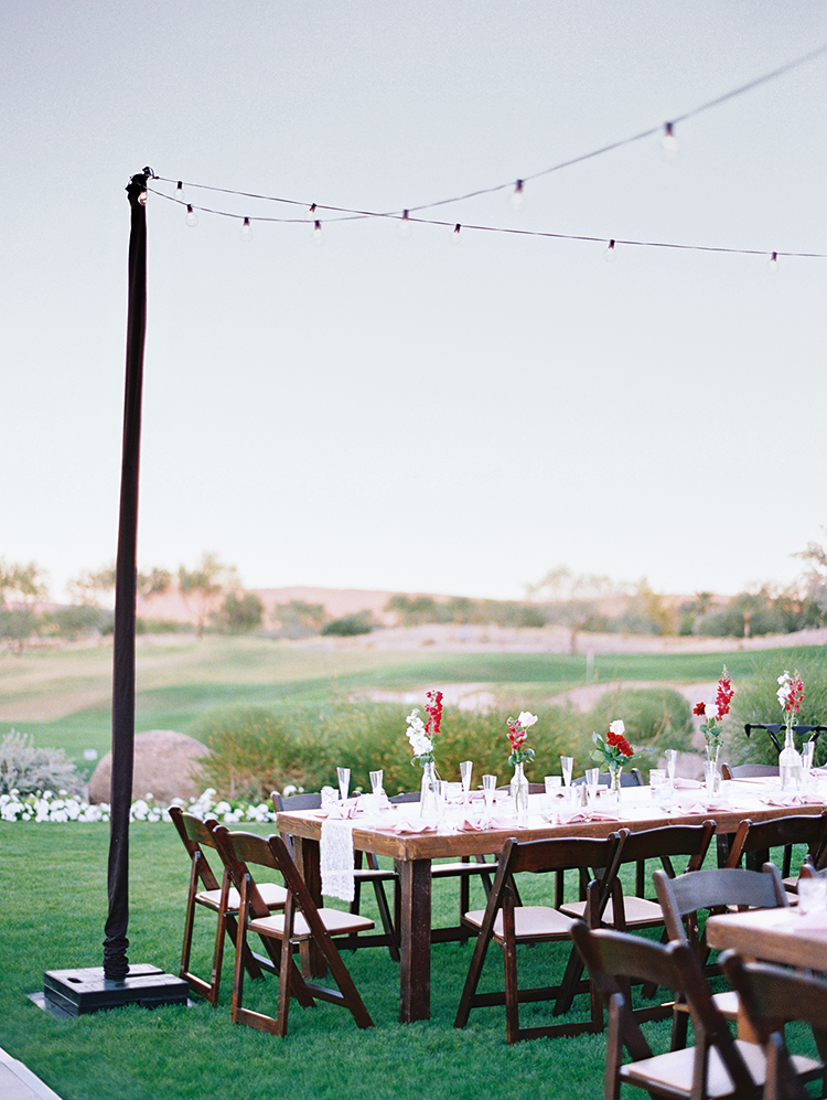 outdoor reception at Trilogy at Vistancia