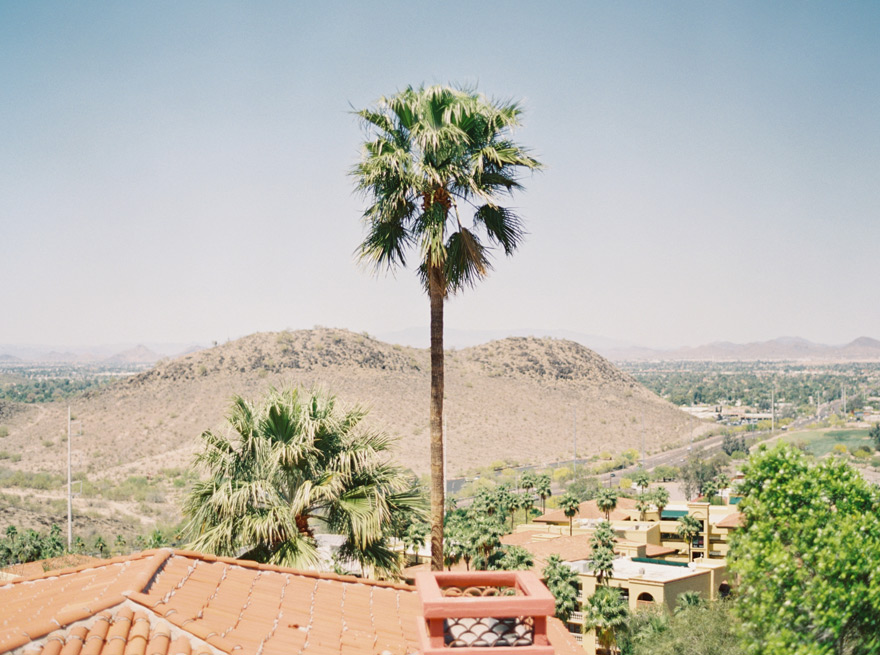 Phoenix view from Tapatio Cliffs Resort