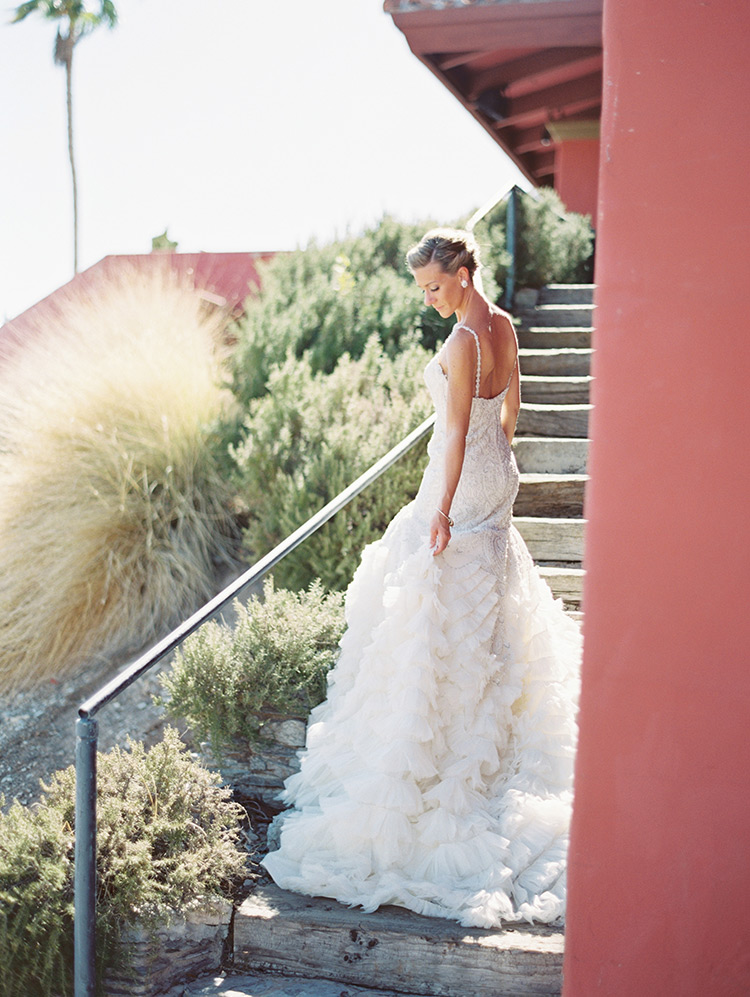 beaded wedding gown from Enaura