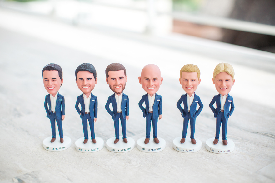 personalized bobbleheads for groomsmen gifts