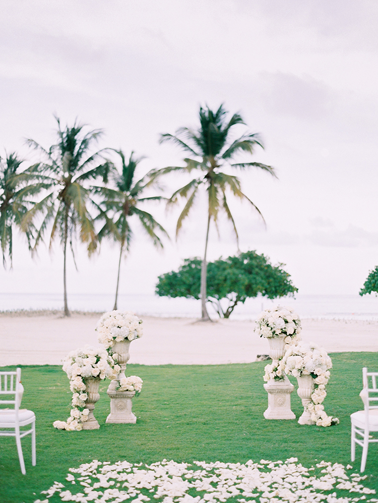 La Cana Golf Resort Wedding Flowers