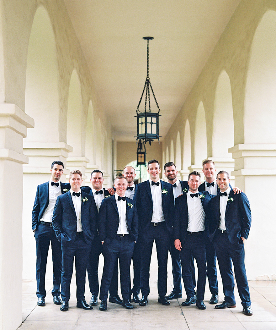 Brophy Chapel groomsmen