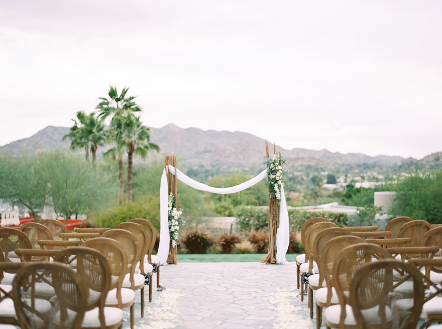 boho desert wedding