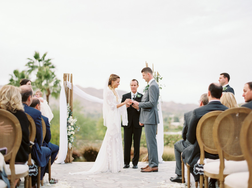 outdoor wedding at Sanctuary on Camelback