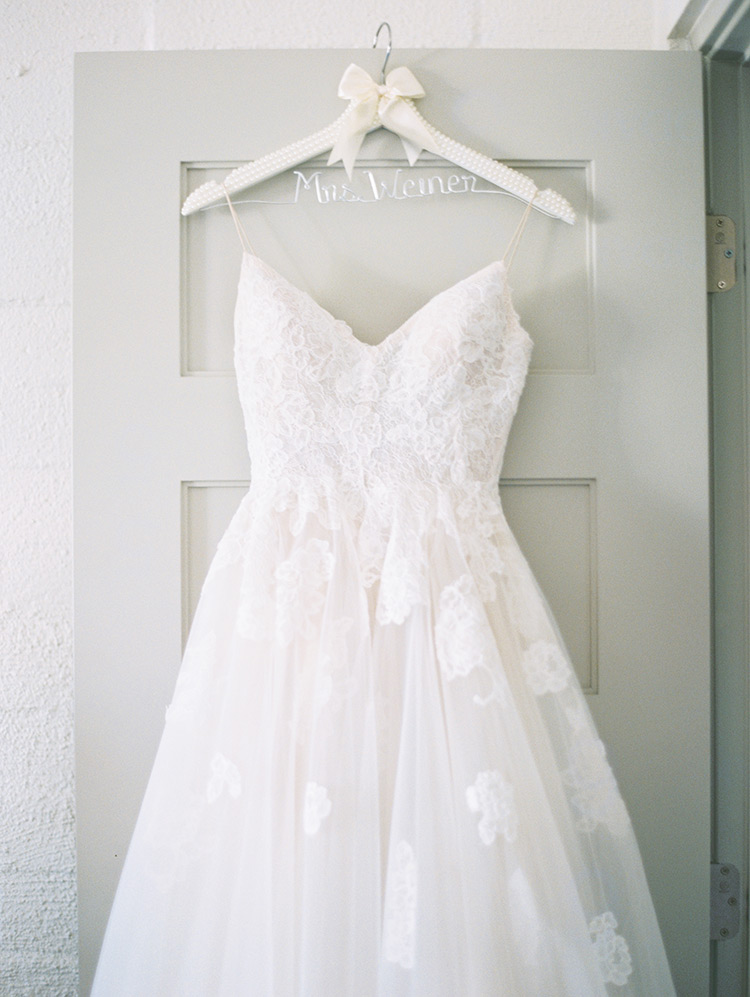 lace and tulle dress by Monique Lhuillier