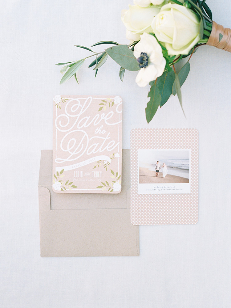 adorable Save the Date card