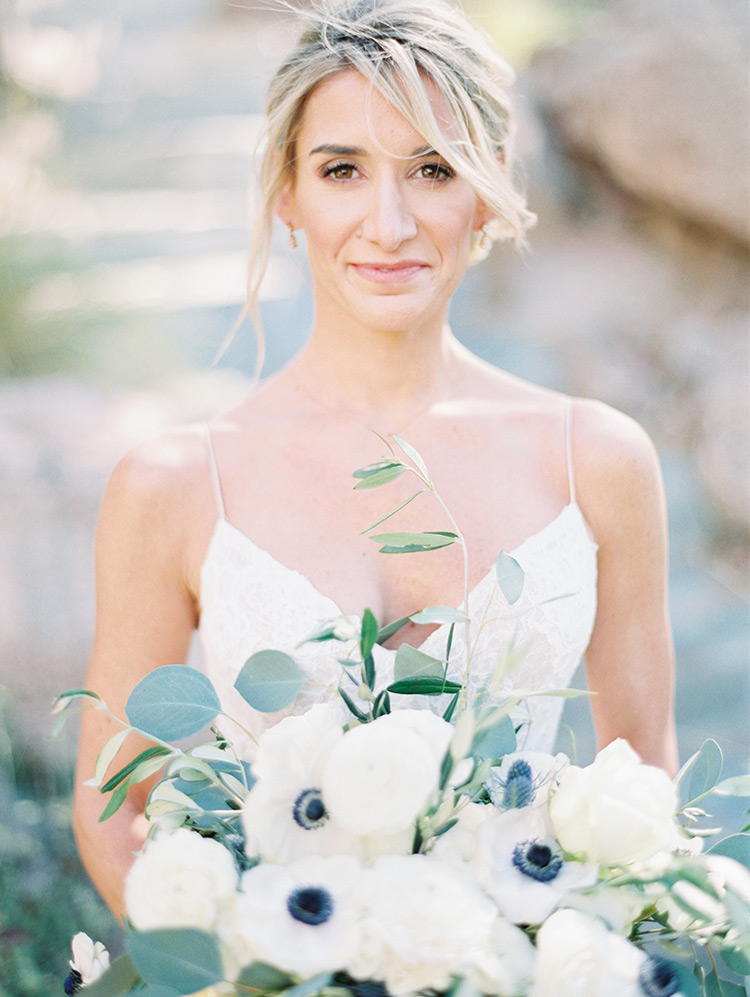 beautiful bride at Sanctuary on Camelback