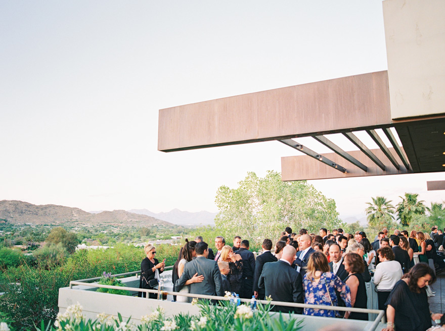 cocktail hour at Sanctuary on Camelback