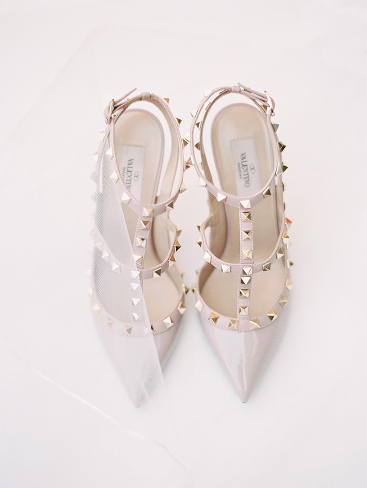 wedding shoes - Valentino Garavani Rockstud