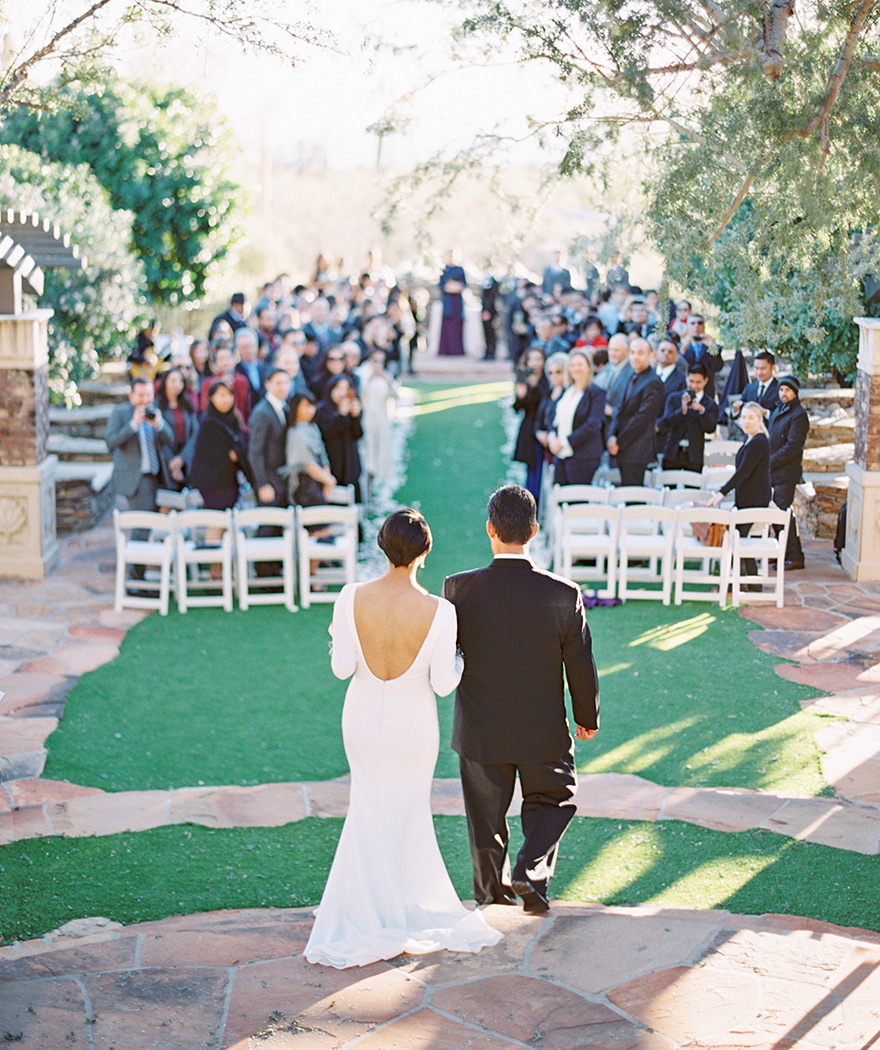 Elegant wedding at Sassi Scottsdale - Phoenix, Scottsdale ...