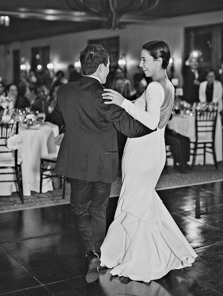 First dance between the bride & groom