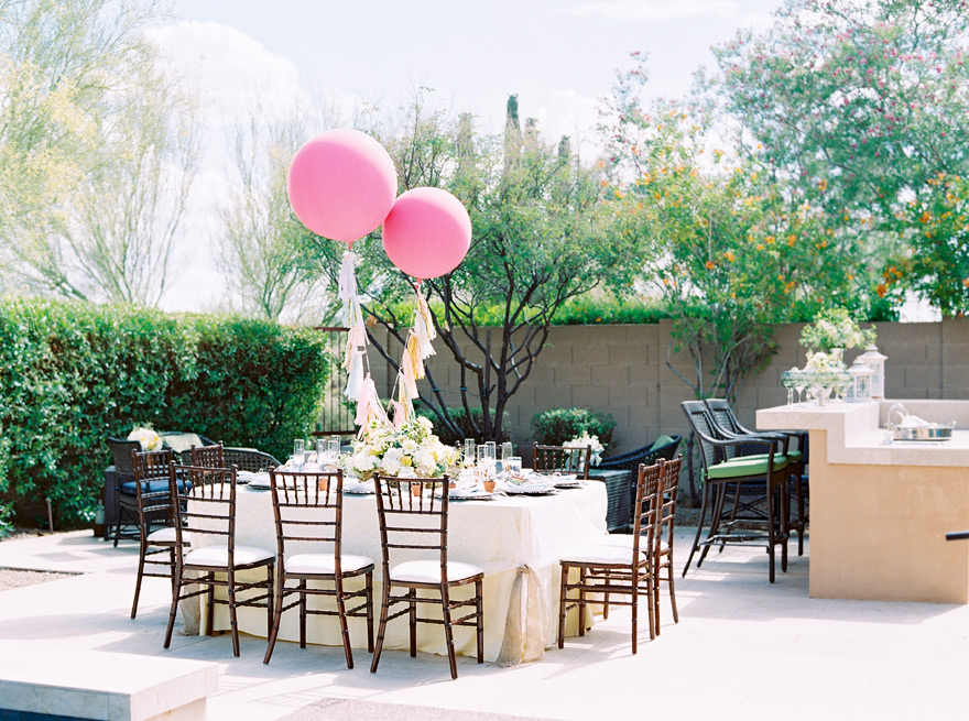 Scottsdale Hot Air Balloon Themed Baby Shower Phoenix Scottsdale