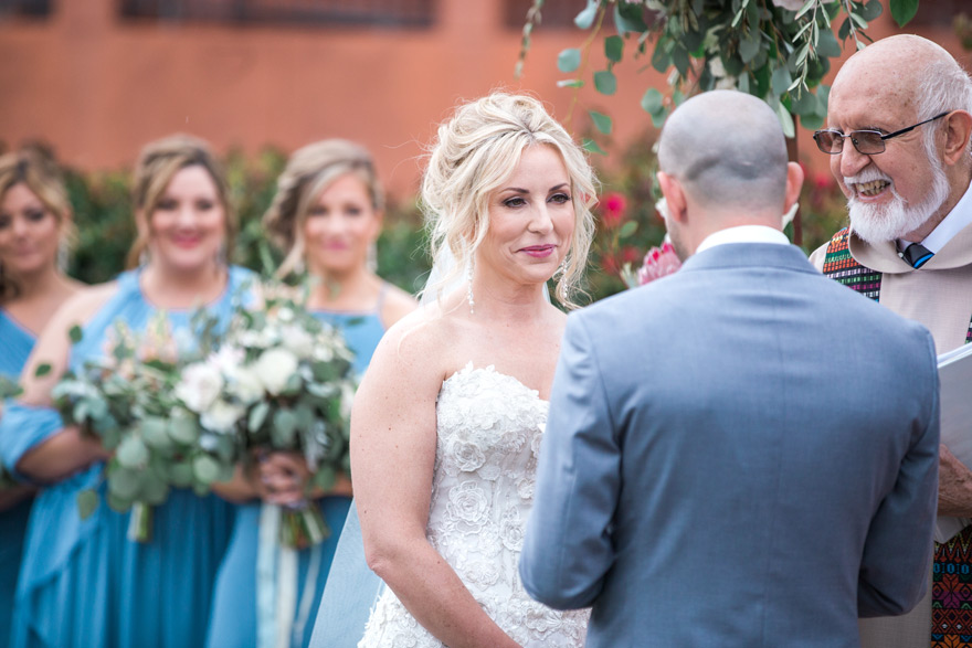 romantic Scottsdale wedding ceremony