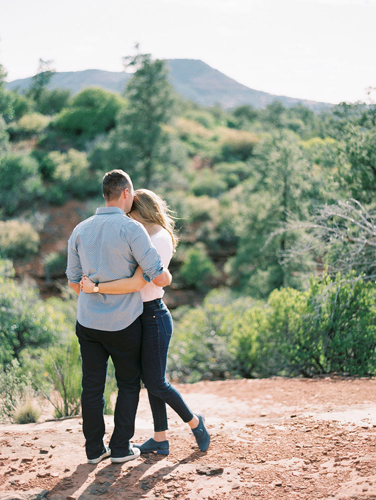 Sedona engagement shoot